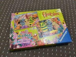 Ravensburger Cbeebies Fimbles 2 x Jigsaws (12 & 24 Pieces) - FREE AUS POST!!