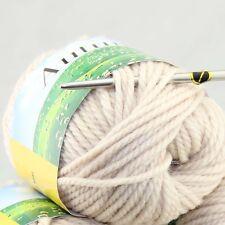 Sale new soft warm 1 BallX50g Chunky Thick Wool Hand Knitting Yarn 226 Beige