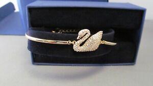 Genuine Swarovski Women's Bracelet Clear Glass  Swann 508313 inc VAT