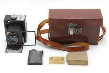 SUPER RARE! EXC+++++ Dallmeyer Speed Camera Pentac F=3 f/2.9 W/ Case from Japan