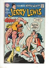 Adventures of Jerry Lewis #117 Wonder Woman Crossover! Rare Book! 1970 Vg+ 4.5!