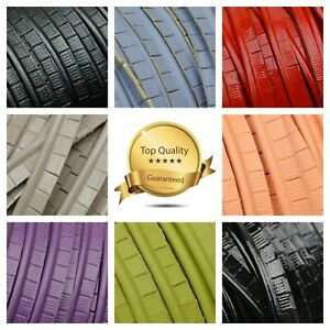 Cut Edge ECO/Faux Leather Piping Insertion Flanged Upholstery Rope Sewing PU SML