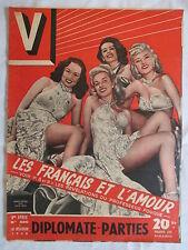V MAGAZINE 220 année 1948 cinéma/Music-hall / PIN-UP