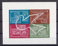 Briefmarken aus Rumänien mit Raumfahrts-Motiv als Einzelmarke