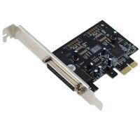 Parallel PCIE PCI-E Express Controller Adapter Card For Desktop Computer Printer