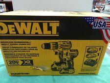 NEW DeWalt DCK287D1M1 20V  Brushless Hammer Drill and Impact Driver Combo Kit