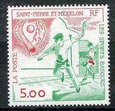 STAMP / TIMBRE SAINT PIERRE ET MIQUELON NEUF N° 547 LES SPORTS BASQUES