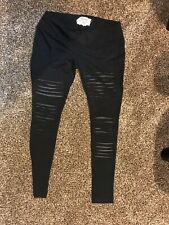 Nomads Hemp Wear Hemp Bamboo & Organic Cotton Slayer Leggings - Black, size XL