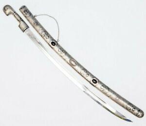 Caucasian Cossack Shashka Caucasian Kindjal Russian Sword dagger Dragun Enamel