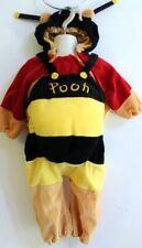 Disney Store Winnie the Pooh Bear Wings Halloween Costume Plush Sz 18 Mo -24 Mo