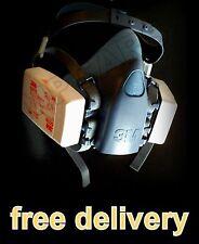 3M 7502 Vernice Spray / MASCHERA ANTIPOLVERE VAPORE particolato riutilizzabili respiratori e filtri