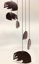 Badger Metal Carillón de viento