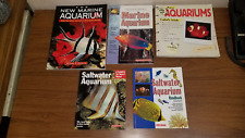 Tfh/Barron Marine Aquarium, Saltwater Aquarium Books 5 Choices or All and Save $