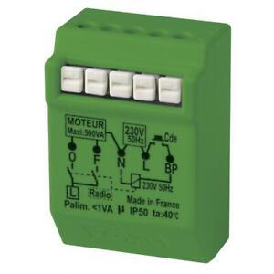 YOKIS Power Micromodule radio encastré pour volet roulant - MVR500ERP - 5454467