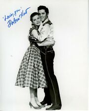 DOLORES HART Signed Autographed LOVING YOU w/ ELVIS PRESLEY Photo