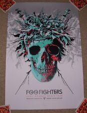 FOO FIGHTERS concert gig poster print ADELAIDE 3-4-15 2015 print ken taylor