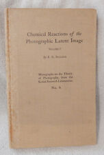 Chemical Reactions of the Photographic Latent Image Vol 1 No. 6 Book - 1927 (B)