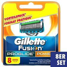 Gillette Fusion Proglide Power Rasierklingen, 8 Stück Ersatzklingen