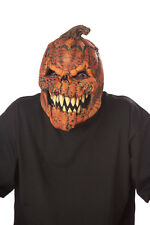 Dark Harvest Scary Pumpkin Ani-Motion Halloween Mask