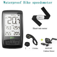 M4 Digital Bike speedometer Wireless Cycle Odometer With Speed & Cadence Sensor