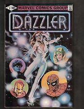 Dazzler #1 ~ Bob Larkin painted cover / John Romita Jr Art ~ 1981 (7.5) WH