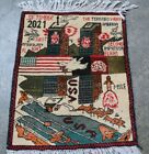Afghan World Trade Center Hand Made War Rug(Hand knotted)
