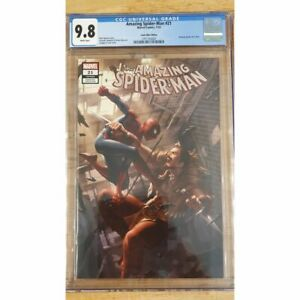 The Amazing Spider-Man #21 Yoon Variant Trade Dress LE1000 9.8 CGC Comic Book