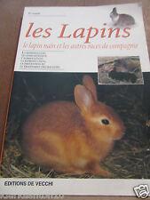 Avanzi: les lapins, le lapin nain et les autres races de compagnie/ De Vecchi