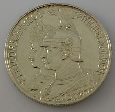 2 Mark Silber Silbermünze Dt. Reich - Friedrich I. 1701 Wilhelm II. 1901
