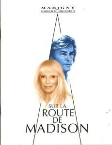 Théâtre de Marigny sur la route de Madison Alain Delon Mireille Darc 2007