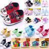 Newborn Baby Soft Sole Crib Shoes Infant Boys Girls Toddler Sneaker Anti-Slip
