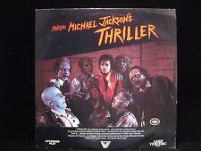 "Making Michael Jackson's Thriller Vestron Music Video VL 1000 Laserdisc 12"""