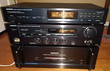 ONKYO T-4000 Stereo System Tuner, M-5100 Power Amplifier, & P-3300 Pre-Amplifier