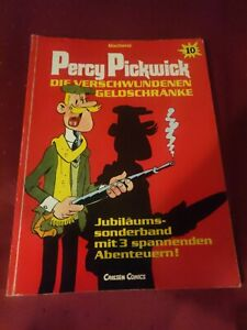 Percy Pickwick Band 10 : Die verschwundenen Geldschränke 1.Aufl. Carlsen 1988