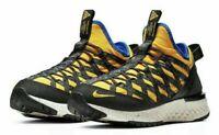 Nike Men's ACG React Terra Gobe Sz-10 Amarillo/Black BV6344-700 Hiking/Trail