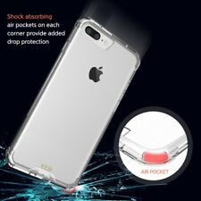 GPEL® iPhone 8 Plus, 7 Plus EverPure Hybrid Case Crystal Clear Shockproof Case