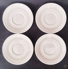 4 x VTG Doulton Saucers Morning Star TC1026 12.5cm D | FREE Delivery UK*