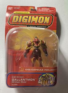 2002 Bandai Digimon Gallantmon (crimson Mode) Season Four Action Figure New