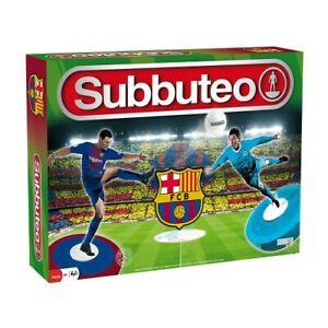 OFFICIAL FC BARCELONA Subbuteo Game Set Boys Mens Toy Football Figures Soccer