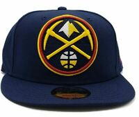 Denver Nuggets New Era 9Fifty XL Logo Threads Adjustable Snapback Hat NBA