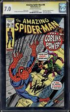 AMAZING SPIDER-MAN #98 - CGC 7.0 OW-W, Stan Lee Signature