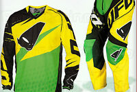 COMPLETO UFO MADE IN ITALY VERDE TAGLIA 52 E XL JERSEY CROSS ENDURO