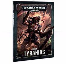 Warhammer 40K Tyranids Codex Hardcover 8th Edition NEW