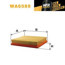 1x Wix Air Filter WA6589 - Eqv to Fram CA8889