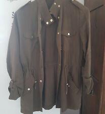 ZARA superbe veste saharienne cs 34 petit 36 kaki  très bon état