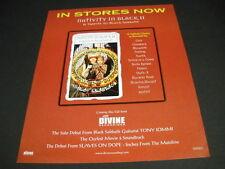 Tribute To BLACK SABBATH 2000 Promo Display Ad from NATIVITY IN BLACK II mint