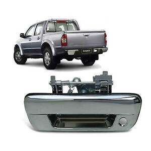 Tailgate Handle Chrome With Key Hole Fits Holden Rodeo RA Ute 2003-2008 New