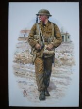 POSTCARD NORTHUMBERLAND FUSILIERS - CORPORAL FRANCE 1916