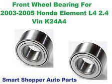 Front Wheel Bearig For 2003-2004 Honda Element DX or 2004-2005 Element LX
