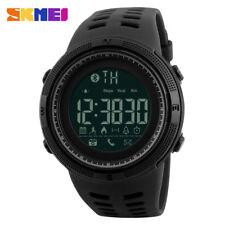SKMEI Luxury Men's Smart Watch Bluetooth Digital Sports Wrist Watch Waterproof
